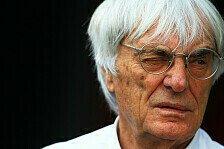 Formel 1 - Ecclestone macht Frankreich Hoffnungen