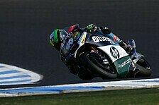 Moto2 - 3. Training: Espargaro führt, Marquez stürzt