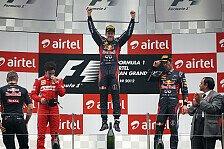 Formel 1 - Vettel: Guter Schritt in Richtung WM-Titel