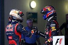 Formel 1 - Red Bull: Großes Tiefstapeln vor Abu Dhabi