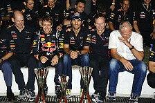 Formel 1 - Newey: Siegesserie ist keine Garantie