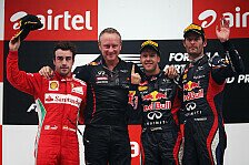 Formel 1 - Webber: Vettel muss Titel vor Brasilien holen
