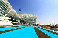 Formel 1 - Zwei DRS-Zonen auf dem Yas Marina Circuit