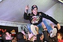 Moto2 - Cervera feiert die Marquez-Brüder
