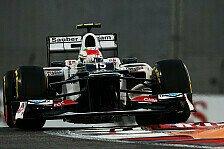 Formel 1 - Perez hofft auf Regen