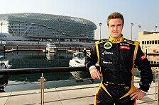 Formel 1 - Valsecchi wird dritter Mann bei Lotus