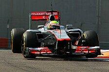 Formel 1 - McLaren spult 1500 Kilometer ab