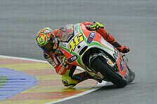 MotoGP - Ein vergeudeter Tag für Rossi