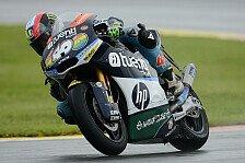 Moto2 - Espargaro trotz Sturz Polesetter in Valencia