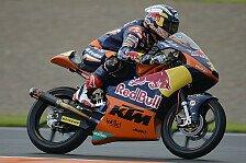 Moto3 - Sandro Cortese nicht in der ersten Reihe