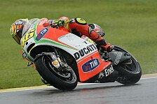 MotoGP - Rossi bräuchte am Sonntag Regen