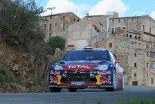 WRC - Loeb gewinnt Rallye Spanien