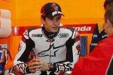 MotoGP - Marquez fährt bei Eisrennen mit
