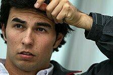 Formel 1 - Ferrari wollte Perez für 2014