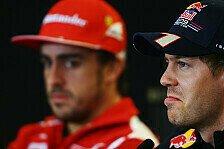 Formel 1 - Vettel vs. Alonso: Wer holt wie den Titel