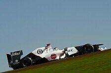 Formel 1 - Perez & Kobayashi mit Auftakt zufrieden