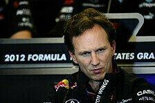 Formel 1 - Horner widerspricht Villeneuve