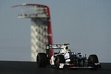 Formel 1 - Perez entgeht Strafversetzung in Austin