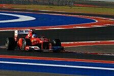 Formel 1 - Für Alonso nach US-Quali noch nichts verloren