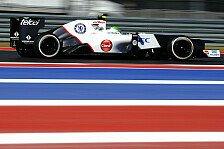 Formel 1 - Perez: Es wird immer Fragezeichen geben