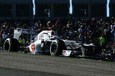 Formel 1 - Perez vom Heimrennen begeistert