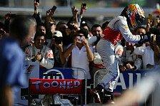 Formel 1 - Hamilton: Erfolg war Frage des Willens