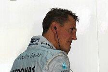 Medien: Michael Schumacher in Pariser Krankenhaus eingeliefert