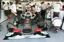 Formel 1 - Sauber: Arge Probleme mit den Reifen