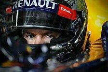 Formel 1 - Vettel hier und da etwas zu schüchtern