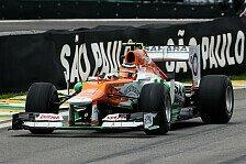 Formel 1 - Hülkenberg sind Titelkandidaten im Rennen egal