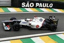 Formel 1 - Sauber: Im Trockenen keine Top-10-Chance