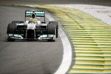 Formel 1 - Rosberg soll als Erster F1 W04 testen