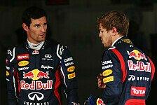 Formel 1 - Webber möchte Vettel weiterhin besiegen