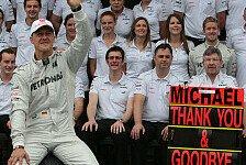 Formel 1 - Brawn: Gewinnen war Teil von Schumachers DNA