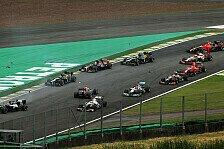 Formel 1 - Bilder: Brasilien GP - Startunfall Vettel