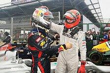 Formel 1 - Horner bedankt sich bei Schumacher