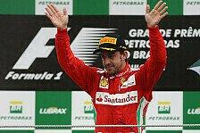 Formel 1 - Alonso: Das beste Jahr meiner Karriere