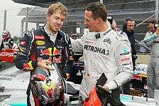 Formel 1 - Horner: Vettel gleichauf mit Fangio und Senna
