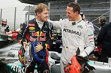 Formel 1 - Schumacher: Der richtige Fahrer ist Weltmeister