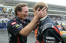 Formel 1 - Horner lobt Vettels Fokus im Titelkampf