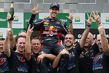 Formel 1 - Angela Merkel von Vettels WM-Sieg begeistert