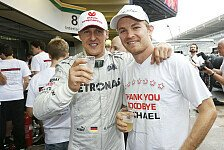 Weltmeister: Nico Rosberg wie Sebastian Vettel und Michael Schumacher