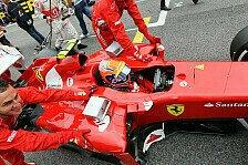 Formel 1 - Massa absolvierte Sitzanpassung