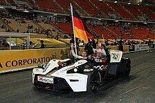 Mick Schumacher & Sebastian Vettel beim Race of Champions