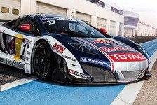 Blancpain GT Serien - Sébastien Loeb setzt auf McLaren