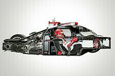 WEC - Audi: Drei Hybrid-Rennwagen in Le Mans
