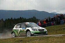 Mehr Rallyes - Jännerrallye: Kopecky führt vor Baumschlager