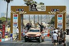 Dakar - HS Rallye Team mit gelungenem Dakar-Auftakt