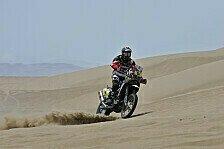 Dakar - Barreda Bort dominiert Tag zwei