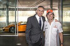 Formel 1 - Video - Perez' erster Tag bei McLaren